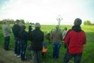 Nabożeństwo majowe przy krzyżu w Liskach