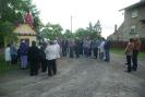Nabożeństwo majowe przy krzyżu w Owieczkach
