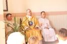 Poświęcenie stacji Drogi Krzyżowej oraz obrazów św. Jana Pawła II i św. Faustyny-11