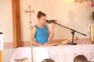 Poświęcenie stacji Drogi Krzyżowej oraz obrazów św. Jana Pawła II i św. Faustyny-15