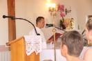 Poświęcenie stacji Drogi Krzyżowej oraz obrazów św. Jana Pawła II i św. Faustyny-16