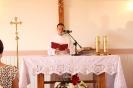 Poświęcenie stacji Drogi Krzyżowej oraz obrazów św. Jana Pawła II i św. Faustyny-17
