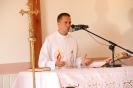 Poświęcenie stacji Drogi Krzyżowej oraz obrazów św. Jana Pawła II i św. Faustyny-18