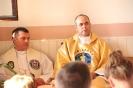 Poświęcenie stacji Drogi Krzyżowej oraz obrazów św. Jana Pawła II i św. Faustyny-19