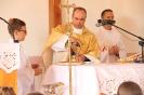 Poświęcenie stacji Drogi Krzyżowej oraz obrazów św. Jana Pawła II i św. Faustyny-20