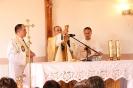 Poświęcenie stacji Drogi Krzyżowej oraz obrazów św. Jana Pawła II i św. Faustyny-25