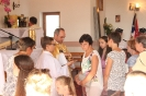 Poświęcenie stacji Drogi Krzyżowej oraz obrazów św. Jana Pawła II i św. Faustyny-26
