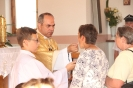 Poświęcenie stacji Drogi Krzyżowej oraz obrazów św. Jana Pawła II i św. Faustyny-27