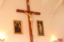 Poświęcenie stacji Drogi Krzyżowej oraz obrazów św. Jana Pawła II i św. Faustyny-28