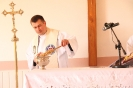 Poświęcenie stacji Drogi Krzyżowej oraz obrazów św. Jana Pawła II i św. Faustyny-29