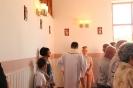 Poświęcenie stacji Drogi Krzyżowej oraz obrazów św. Jana Pawła II i św. Faustyny-31