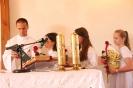 Poświęcenie stacji Drogi Krzyżowej oraz obrazów św. Jana Pawła II i św. Faustyny-32