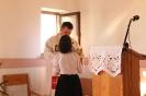 Poświęcenie stacji Drogi Krzyżowej oraz obrazów św. Jana Pawła II i św. Faustyny-33