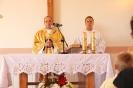 Poświęcenie stacji Drogi Krzyżowej oraz obrazów św. Jana Pawła II i św. Faustyny-7