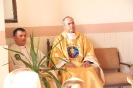 Poświęcenie stacji Drogi Krzyżowej oraz obrazów św. Jana Pawła II i św. Faustyny-8