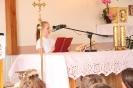 Poświęcenie stacji Drogi Krzyżowej oraz obrazów św. Jana Pawła II i św. Faustyny-9