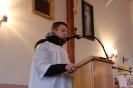 Wizytacja Biskupa w kaplicy w Owieczkach